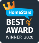 HomeStars Best Award 2020